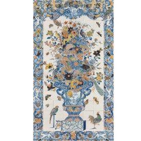 muurdecoratie fotocollage schilderij tegelpatroon Rijksmuseum Portugees