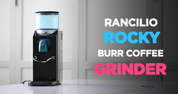 Rancilio Rocky HSD-ROC-SD Doserless Coffee Grinder Review: Unbeatable beast http://coffeebeangrinderplus.com/rancilio-rocky-coffee-grinder-review/  #Rancilio #Coffee #Grinder #Cafe #Espresso