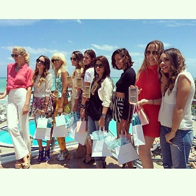 All @miamifashionweek Ambassadors #lovelyimperfect Miami Fashion Week 2014