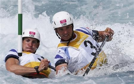 Stott and Baillie claim Britain's first canoe slalom Olympic gold, while Hounslow and Florence take silver