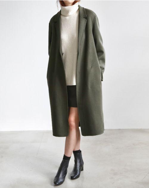 Khaki Coat | Neutral Layers | Polished | Minimal | TheUNDONE #beundone