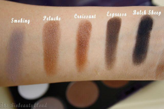 palette elegantissimi neve makeup cosmetics trucco minerale