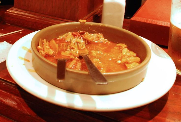 """Beef tripe, """"callos"""" in Spanish is a very traditional dish in Madrid and has been served in taverns and family dining tables for centuries."""