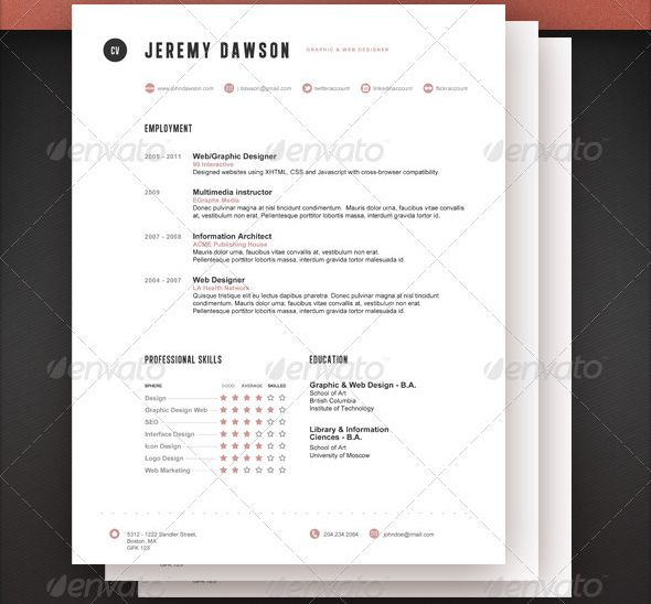 Urban Planning Resume: Stylish-Resume