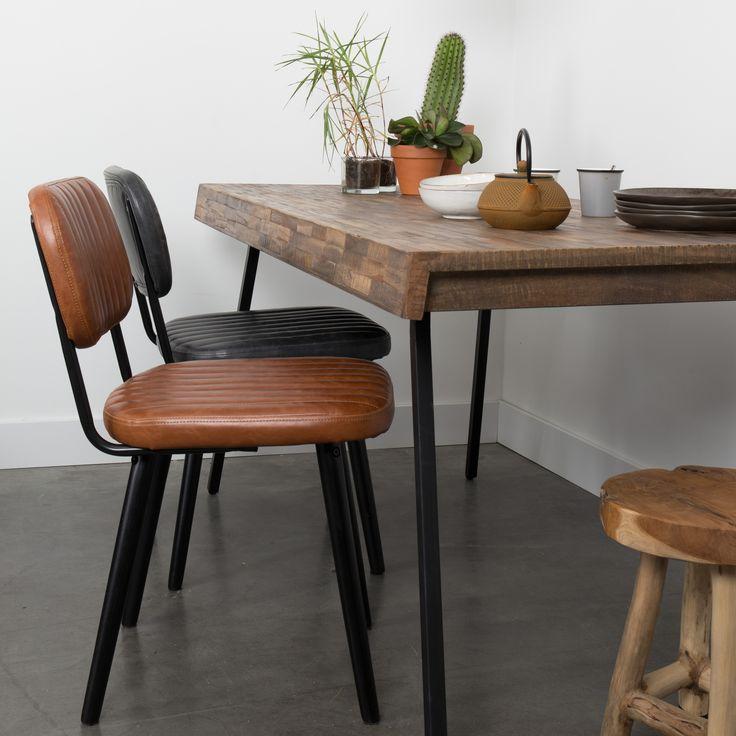 25 beste idee n over stoelen voor de eettafel op pinterest for Kussens voor op stoelen