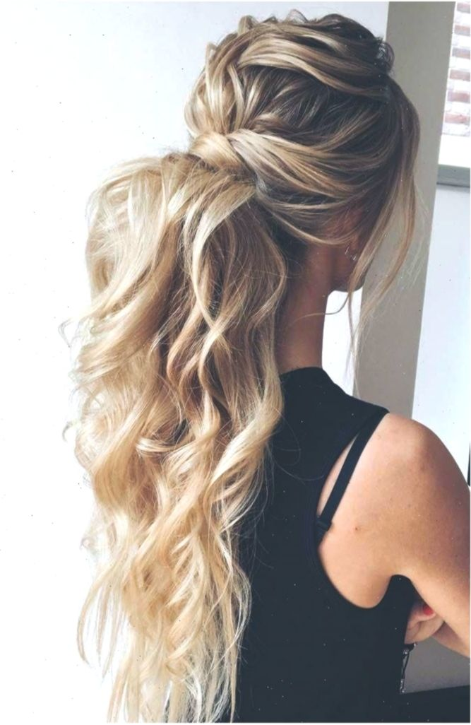Curly Ponytail Hairstyle For Prom Night Ponytail It Is High Time To Think High Ponytail Hairstyles Prom Ponytail Hairstyles Wedding Hairstyles For Long Hair