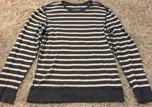 J Crew Striped Long Sleeve Shirt Men's Sz L | eBay