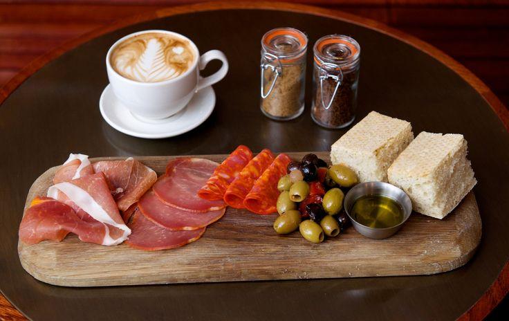Lunch board at Benugo Expresso Bar