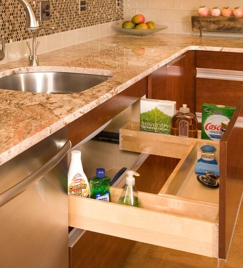 21 best images about under sink kitchen storage on Kitchen under cabinet storage ideas