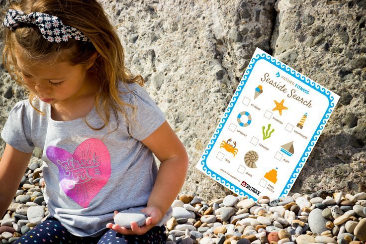 With just under a couple of weeks left of the school holidays, maybe you've run out of ideas? Well I'm delighted to release my third kids activity sheet called the 'Seaside Search' and it's proudly sponsored by Saltrock.