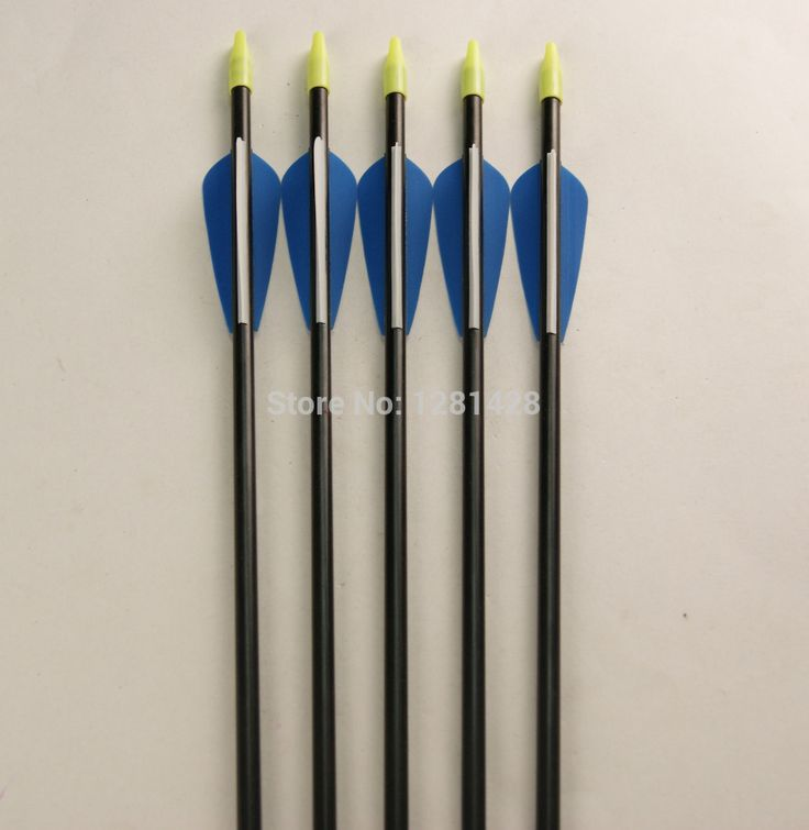 Бесплатная доставка 12 шт. 30  стекловолокна стрелка 6875 для охоты с бантом из лука на открытом воздухе Equitments