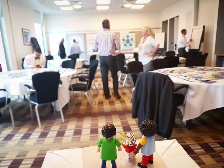 Everything ready for the #Synergy #businessgame at the #IAMconference in #Manchester . . . . .  #OxandAcademy #gamebasedlearning #playful #learning #training #education #assetmanagement #assetageing #riskmanagement #businessgame #businessgames #toystagram #playmobil #lego #legominifigure #whatdoyouwanttoimprove #whatdoyouwanttolearn