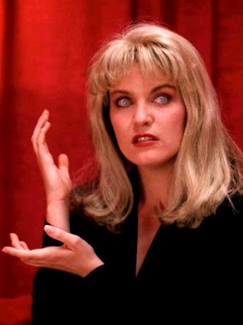 Meanwhile... Laura Palmer Twin Peaks
