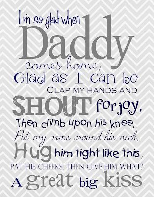 Father's Day Free LDS printable