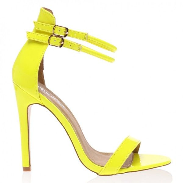 1000  ideas about Yellow Strappy High Heels on Pinterest | High