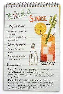 Receta cóctel Tequila Sunrise - Descubre Catabox - Packs Gin Tonic y Vino - El regalo perfecto para los amantes de las cosas buenas y bonitas