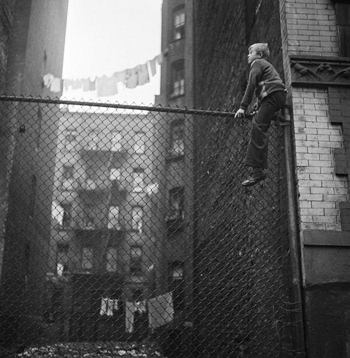 Нью-Йорк 1940-х годов авторства Стэнли Кубрик (Stanley Kubrick)