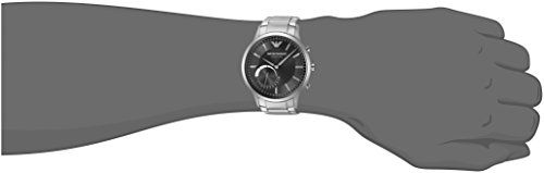 Emporio Armani Hybrid Smartwatch ART3000   Emporio Armani makes its introduction into wearables with the Emporio Armani Connected hybrid smartwatch. With the dynamic styling of Emporio Armani design