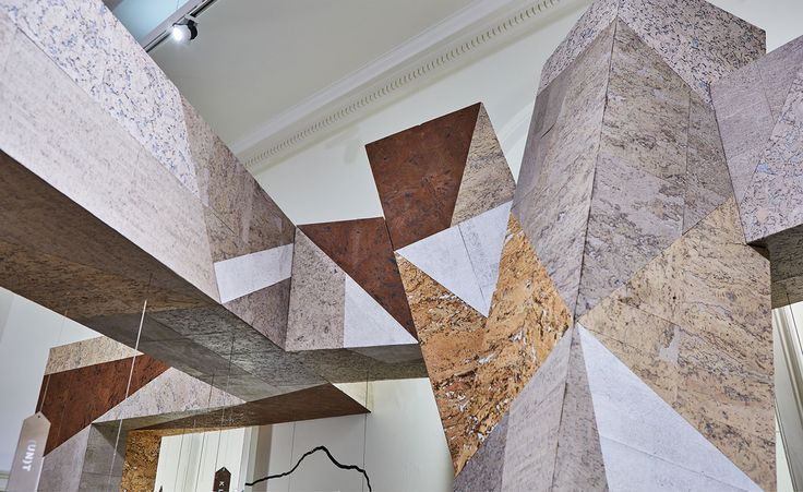 amorims cork installation for portugal at somerset house ifs 2016 london fashion week