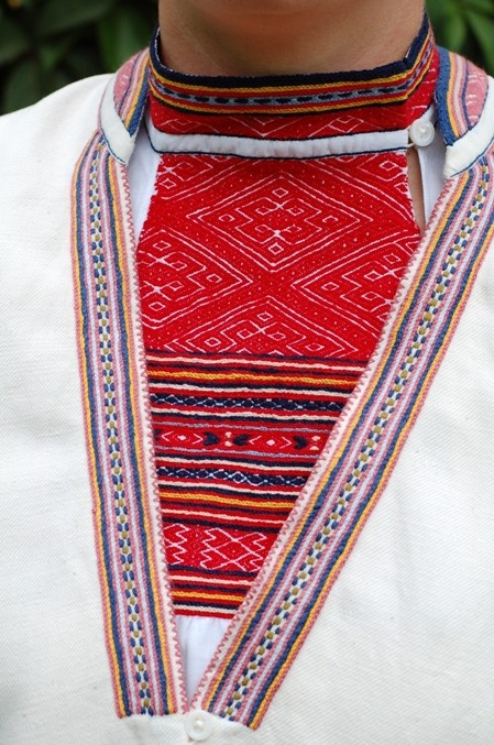 closeup of a rekko from Kuolemajärvi