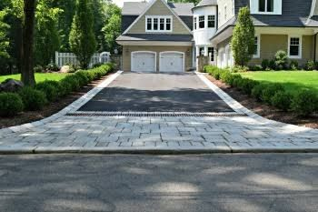 steep gravel driveway solutions - Google Search