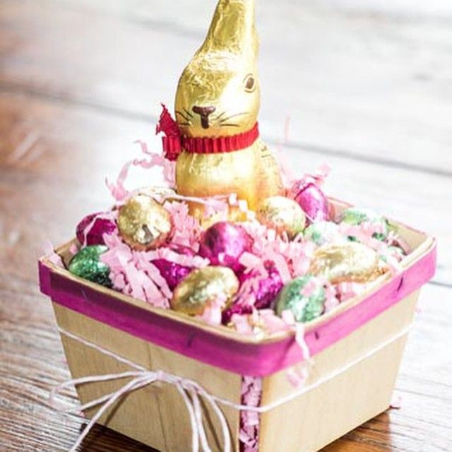 2031 best easter spring images on pinterest spring style heres another cute way to use our berry baskets for easter perfect for a small negle Images