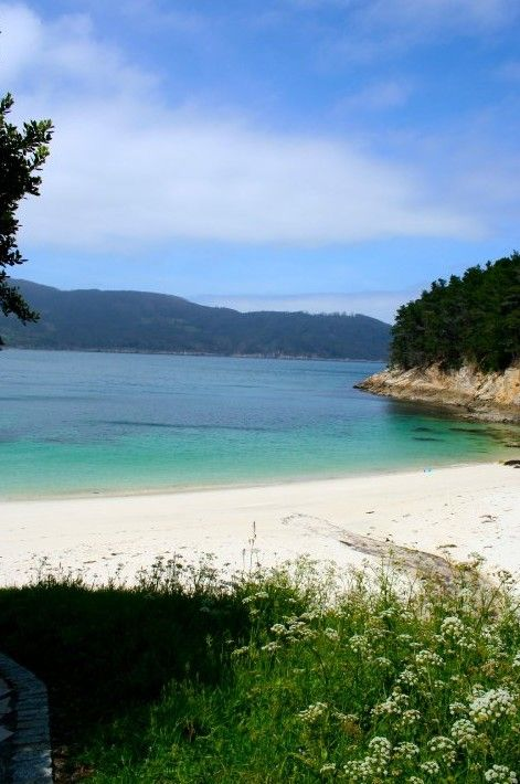 Playa de Caolín, Galicia.    inspiration for dealing with spanish visa...ALMOST THERE.