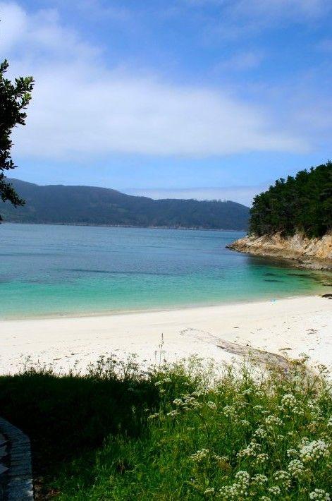 Playa de Caolín, Galicia.
