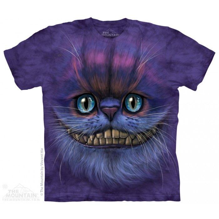 The Mountain, Big Face Cheshire Cat felnőtt rövidujjú 3D amerikai póló