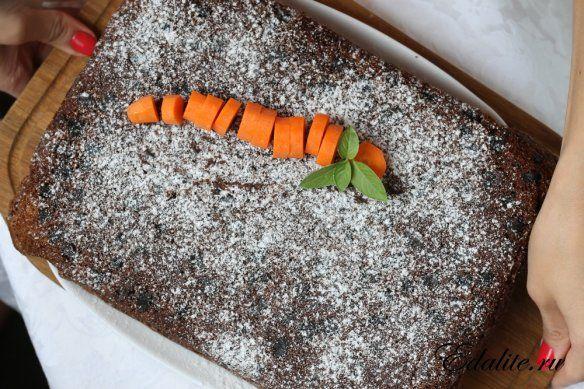 Морковный пирог - 366 ккал