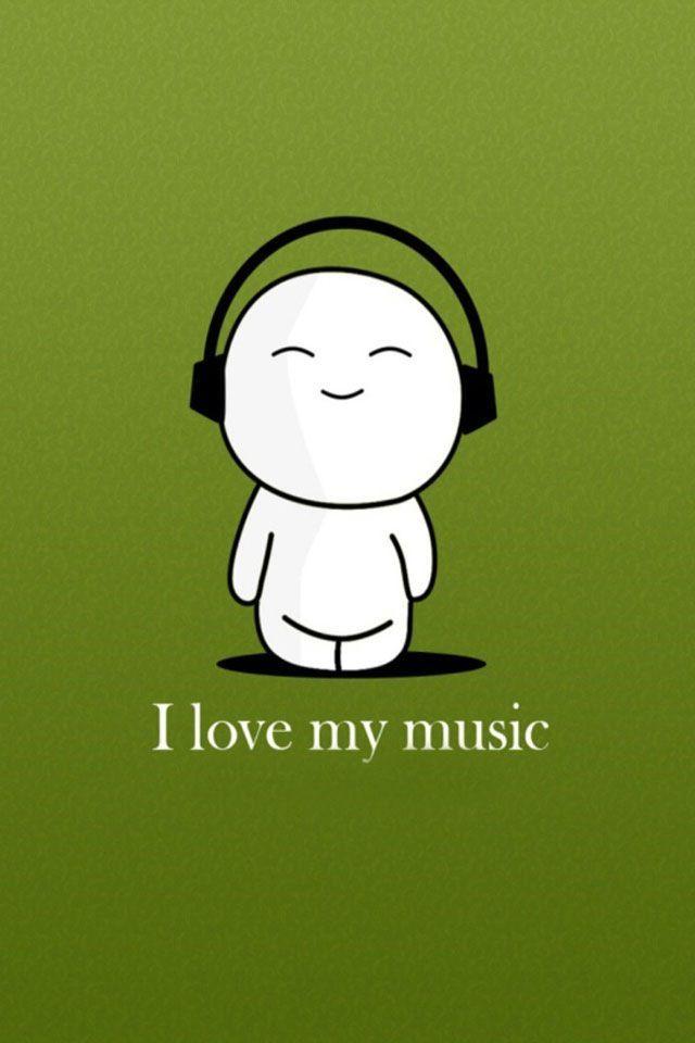 Ah, how cute. I love music too.