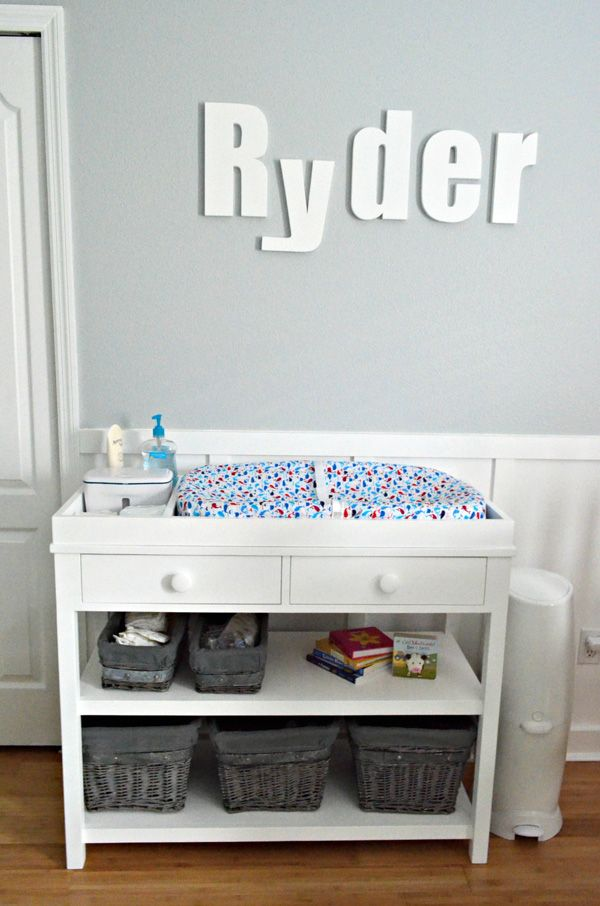 Baby Changing Station DIY (Possible To Make On/with The Bookcase We Have)