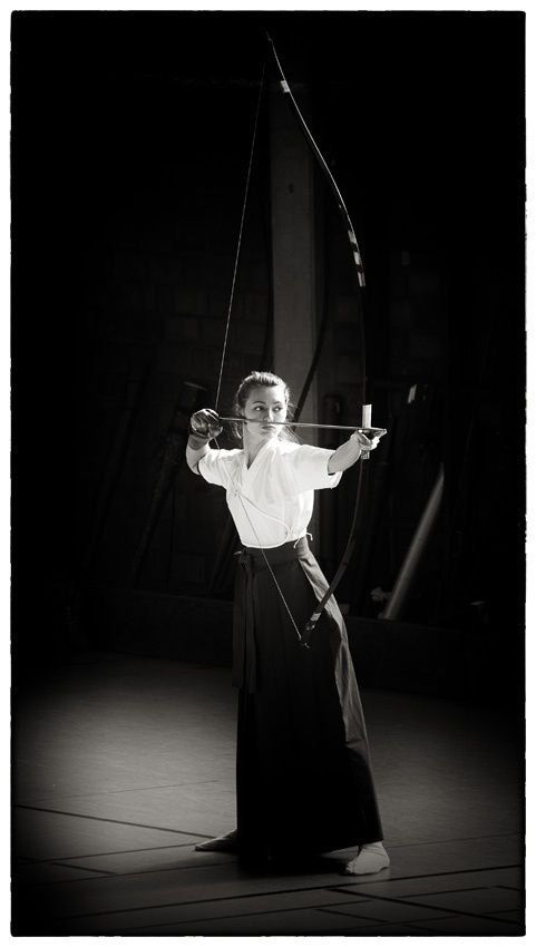 Kyudo: 弓 道 Japanese archery