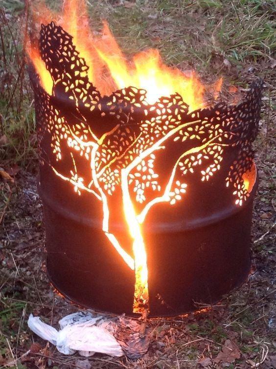 12 Best Burn Barrels Images On Pinterest Burn Barrel