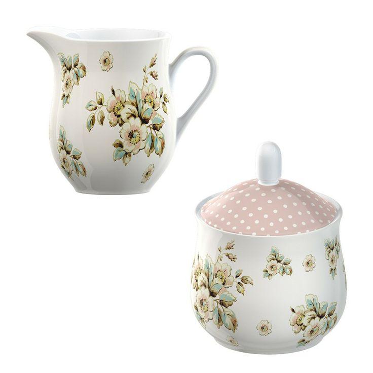 Creamer & Sugar Bowl - Katie Alice