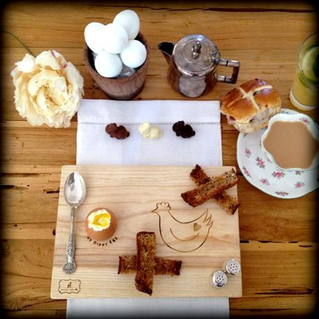 Dippy Egg Boards - Hand Crafted Wooden Breakfast Boards
