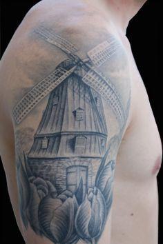 1000 ideas about windmill tattoo on pinterest dutch tattoo oklahoma tattoo and blue tattoo. Black Bedroom Furniture Sets. Home Design Ideas