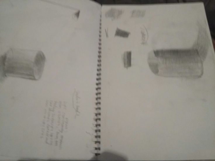 Sketchbook pages 15-16