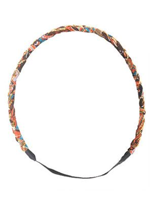 i love this tribal headband! It has a cute 70's vibe! And it's so multi-colored it can be paired with so many outfits just to add a pop of color!<3