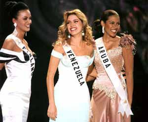 Miss Universe 1996 top 3