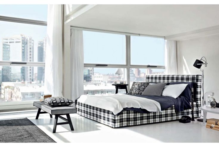 BRICK 80 - Queen/King Bed. To purchase these items contact RADform at +1 (416) 955-8282 or info@radform.com #modernfurniture #contemporarydesign #interiordesign #modern #furnituredesign #radform #architecture #luxury #homedecor #modernloft #loft #bedroom #bedroomfurniture