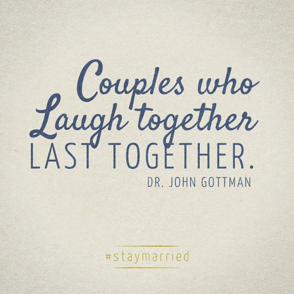 Couples Who Laugh Together Last Together