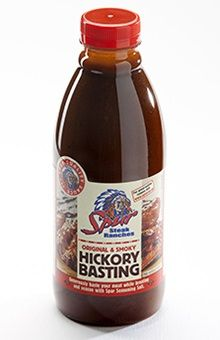 Spur's Hickory Basting Sauce. Spur Original & Spicy Hickory Basting sauce has a delectable smoky flavour that perfectly complements any pork dish. | https://www.spur.co.za/sauces/spur-sauces/hickory-basting