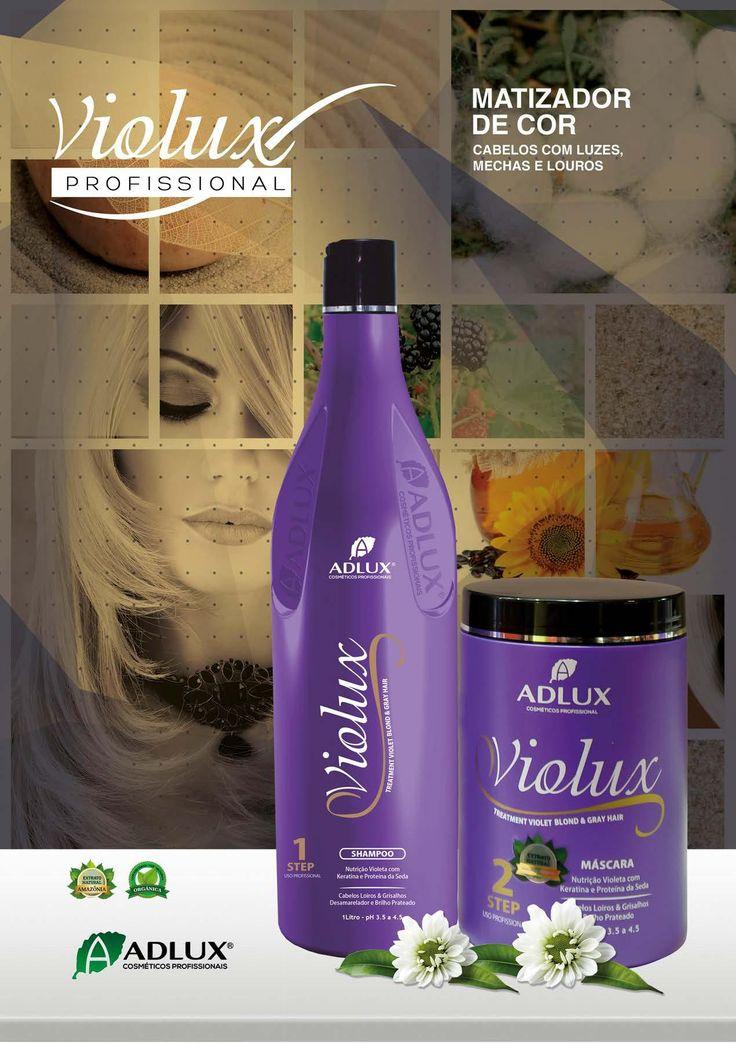 """""""produtos adlux linha profissional violux matizador de cor profissional"""""""