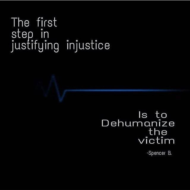 dehumanization quotes in night