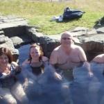 Natural hot tub.