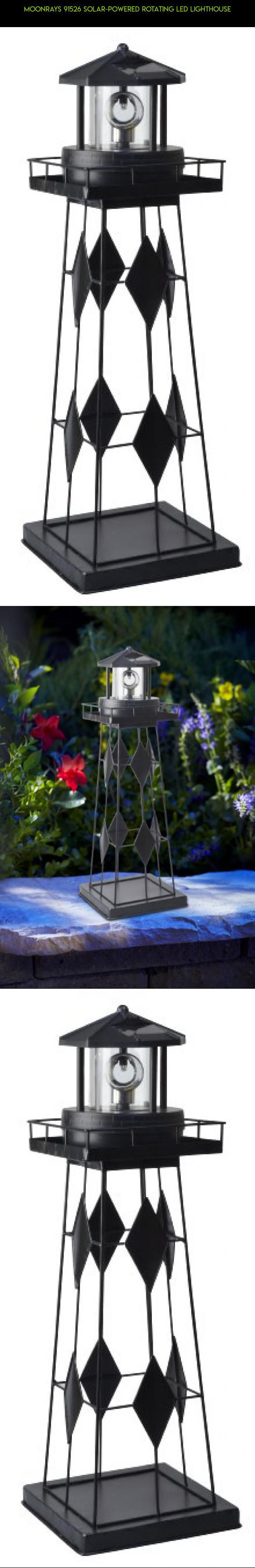 Moonrays 91526 Solar-Powered Rotating LED Lighthouse #drone #plans #products #fpv #decor #shopping #gadgets #kit #camera #gardening #technology #tech #racing #parts