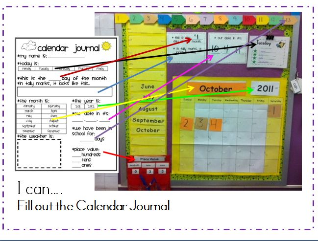 Daily Calendar Journal Kindergarten : Best kindergarten math calendar images on pinterest