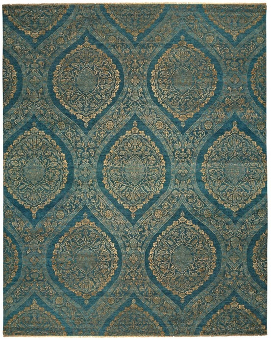 Gracious Rug in Teal & Gold design by BD Fine - 81 Best Feizy Rugs Images On Pinterest Carpets, Orange County