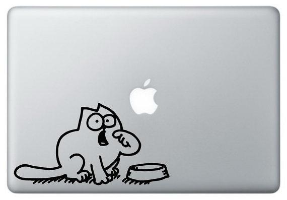 Simons cat vinyl decal by SimonVinyl on Etsy, #SimonsCat, #humor, #funny, https://apps.facebook.com/yangutu